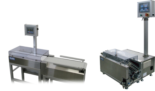 Belt conveyance Check weigher